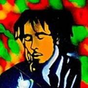 Marley Rasta Guitar Art Print