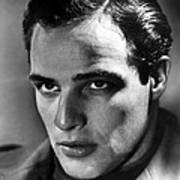 Marlon Brando, 1950s Art Print by Everett
