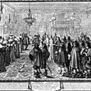 Marriage Contract, 1645 Art Print