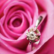 Marriage Proposal Art Print by Elias Kordelakos Photography
