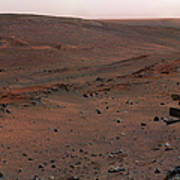 Mars Exploration Rover Spirit Art Print by Stocktrek Images