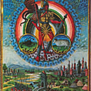 Mars, God Of War Art Print