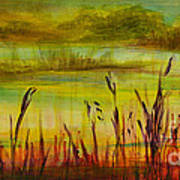Marsh View Art Print