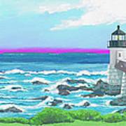 Marshal Point Light Art Print