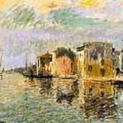 Martigues In The South Of France Art Print