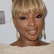 Mary J Blige At Arrivals For 2011 Art Print by Everett