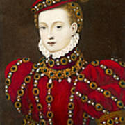 Mary Queen Of Scots Art Print