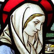 Mary Tears Art Print