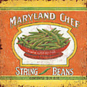 Maryland Chef Beans Art Print