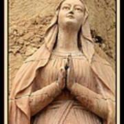 Mary's Prayers Art Print