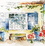 Mas St Antoine Art Print