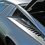 Maserati Merak Detail Art Print by Samuel Sheats