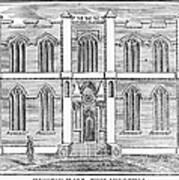 Masonic Hall, C1830 Art Print