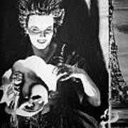Masque Of Evil Art Print