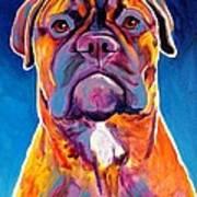 Bullmastiff - Lexi Art Print