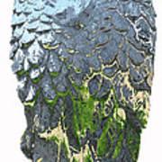 Matalic Angle Wings  Art Art Print