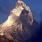 Matterhorn Morning-2 Art Print