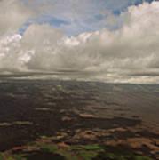 Maui Beneath The Clouds Art Print