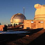 Mauna Kea Observatories Art Print
