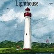 May The Magnificent Lighthouse  Art Print