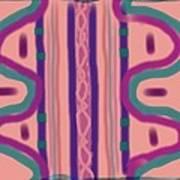Maya Art Print by Rosana Ortiz