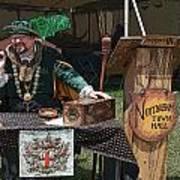Mayor Of Nottingham Art Print