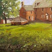 Mcconkey Ferry Inn At Washington Crossing Park Art Print