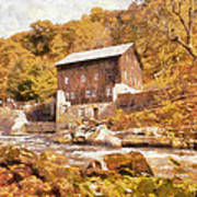 Mcconnell's Mill Art Print