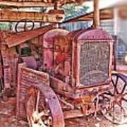 Mccormack Deering Tractor  Art Print