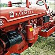 Mccormick Farmall Art Print