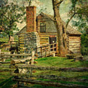 Mccormick Grist Mill Print by Kathy Jennings