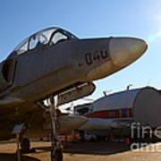 Mcdonnell Douglas Ta-4j Skyhawk Aircraft Fighter Plane . 7d11302 Art Print by Wingsdomain Art and Photography