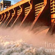 Mcnary Dam Art Print by DOE/Science Source