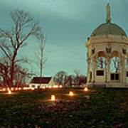 Md. Monument And Dunker Church 11 Art Print