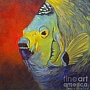 Mean Green Fish Art Print