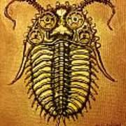 Mecha-trilobite 1 Art Print