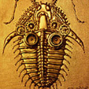 Mecha-trilobite 3 Art Print