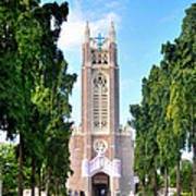 Medak Church Art Print