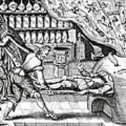 Medical Purging, Satirical Artwork Art Print