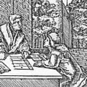 Medieval Arithmetic Art Print