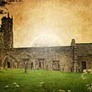 Medieval Church Art Print