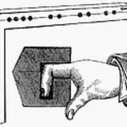 Medieval Finger Pillory Print by Granger