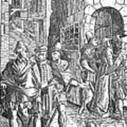 Medieval Prison, 1557 Art Print
