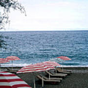 Mediterranean Beach Time  Art Print