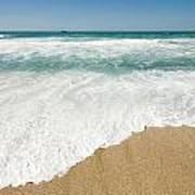 Mediterranean Shore Art Print