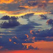 Mediterranean Sky Art Print