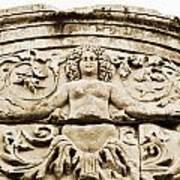 Medusa Of Ephesus Turkey Art Print