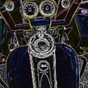 Mega Tron Art Print