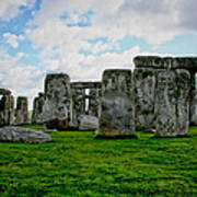 Megaliths Art Print