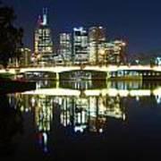 Melbourne Lights Art Print